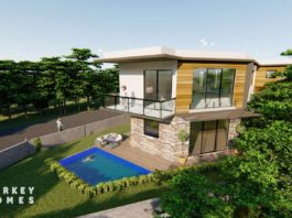 Turkey Homes Property of the Month - semi-detached luxury contemporary villa in Üzümlü