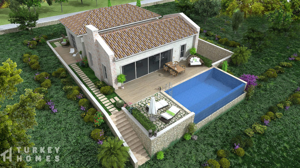Turkey Homes Property of the Month – Off-plan luxury stone bungalows in Üzümlü