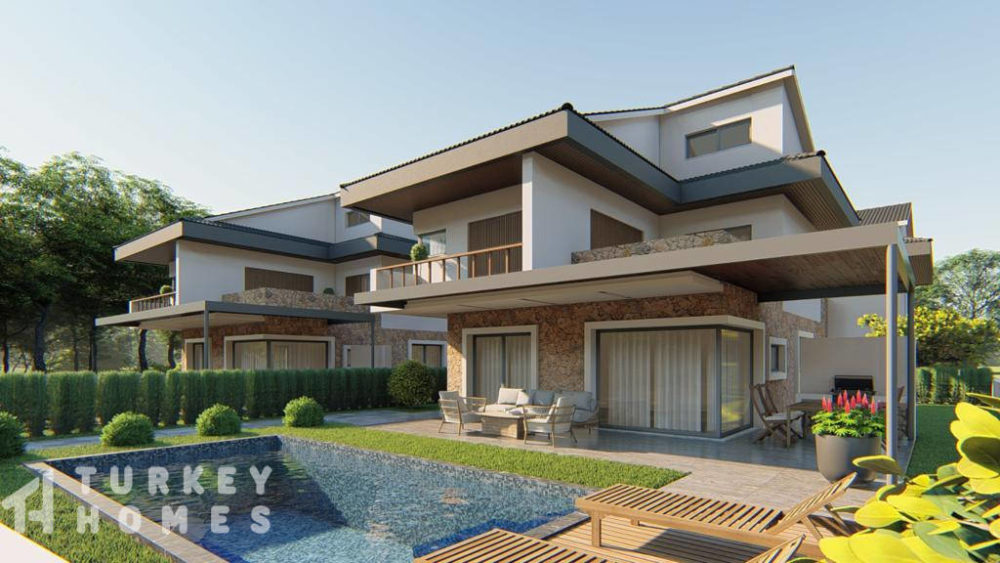 Turkey Homes Property of the Month – Off-plan detached 5-bedroom luxury villas in Çalış with private pools