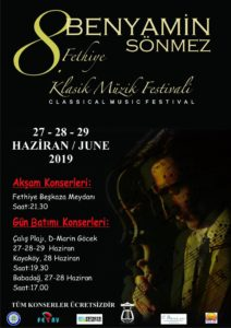 8th Benyamin Sönmez Classical Music Festival @ Various