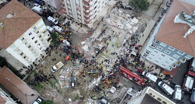 Suspects in Istanbul building collapse face up to 15 years in prison
