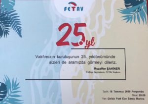 Celebrating 25 years since the foundation of FETAV @ Girida Port Sea Food Restaurant