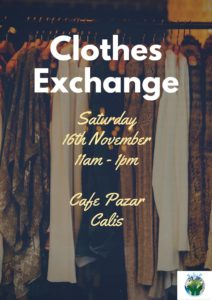 Sustainable Living in Fethiye - Clothes Exchange Event @ Cafe Pazar