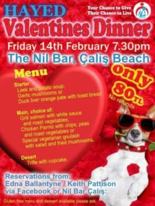 HAYED Valentine's Dinner @ Nil Bar