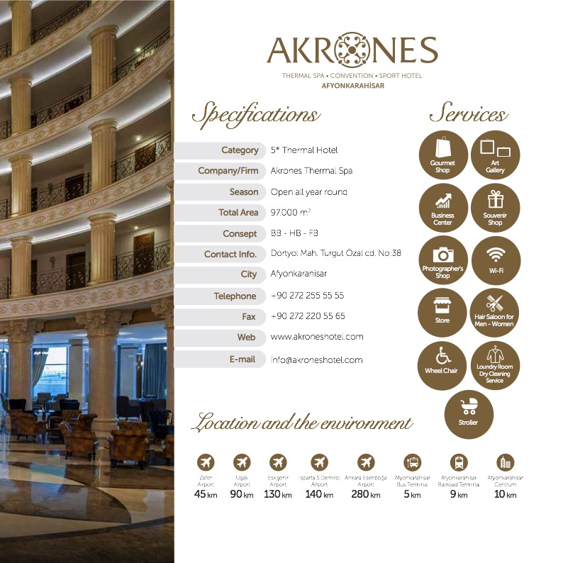 Akrones - where you can refresh your soul and body