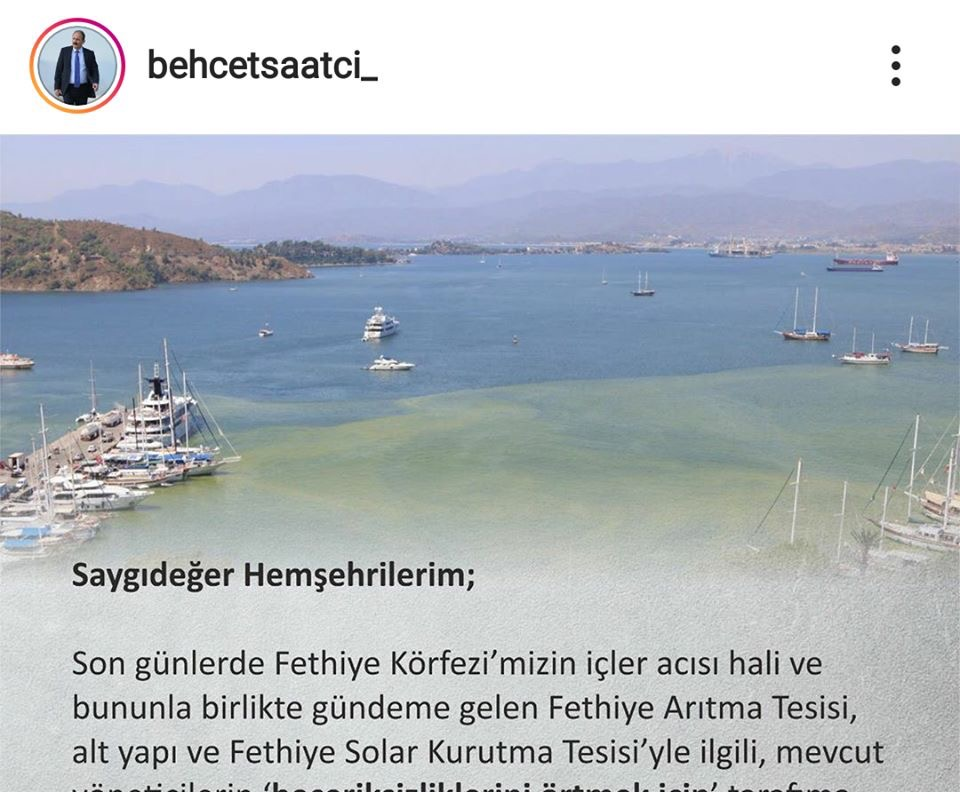 A message from Behçet Saatcı