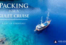 Everything you need to know about Gulets and Gulet Cruises (part four) – What to Pack for a Gulet Cruise