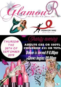 Another very special evening with Glamour and Yaşam İçin Yarış (Race For Life Turkey) @ Glamour Hisarönü