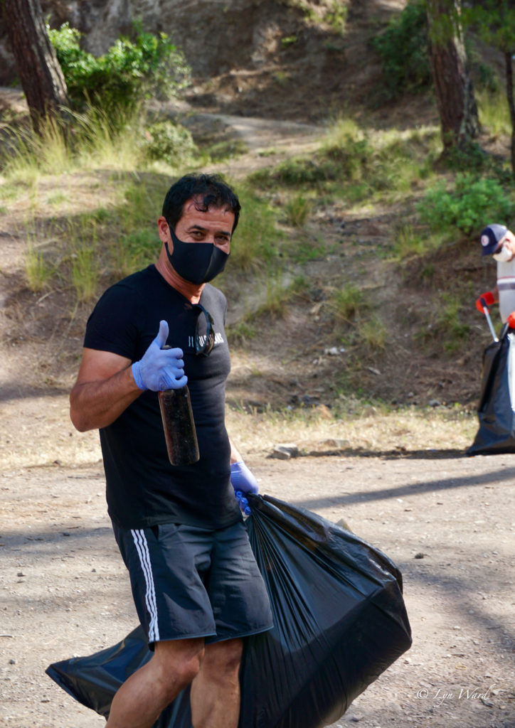 Community News and Events – week ending 21 June 2020 - clean-up group tackle littering in Hisarönü