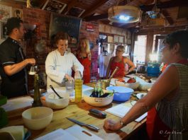 Learning the art of Turkish cookery with Özlem Warren
