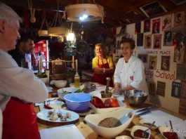 Ozlem's Turkish Table hands-on classes at Guru's Place Cookery School, Kalkan