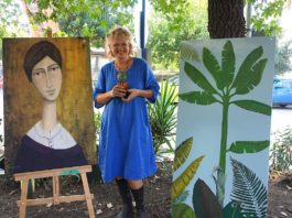 """Talking Art"" with Isabelle Cordes"