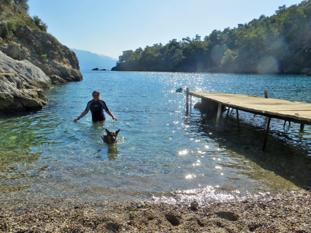 A winter walk – Kayaköy to Cold Water Bay
