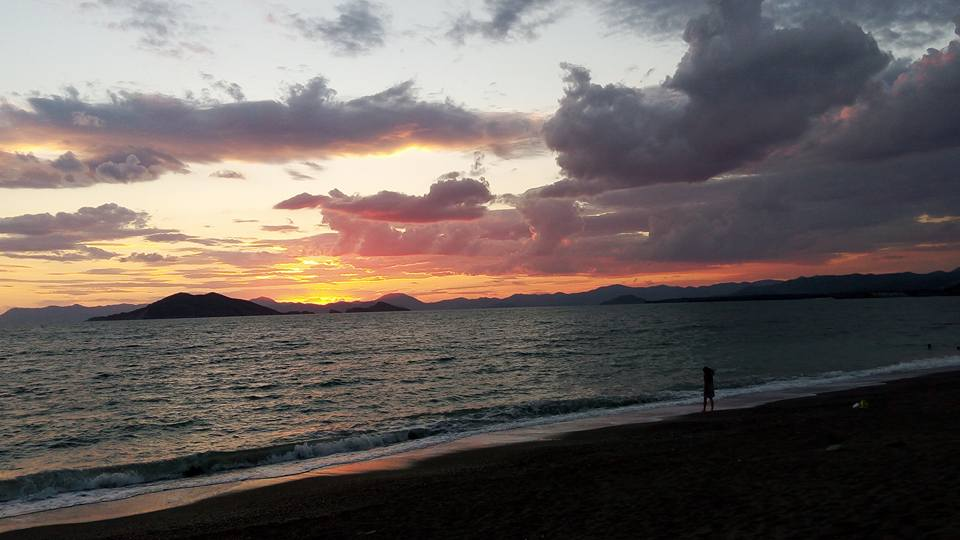 October sunset at Çalış --Photo courtesy of Erdal Pay