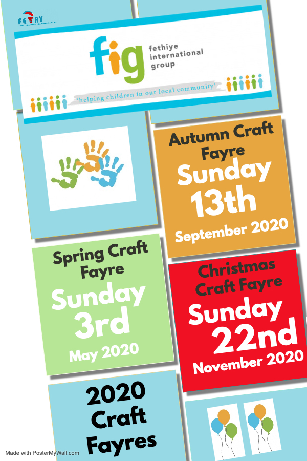 FIG Craft Fayres 2020 - Save the Dates...