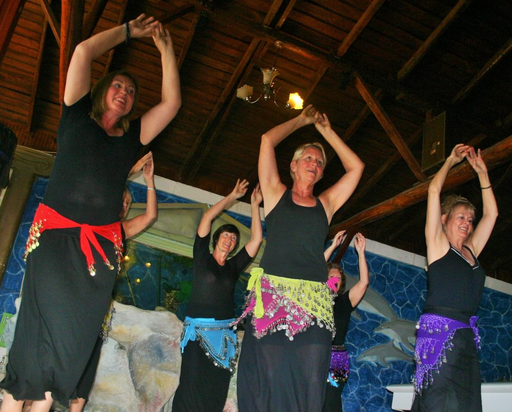 Sisters are doing it for themselves – the joy of belly dance right here in Fethiye