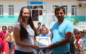 Local businessman heads up project to help Kabaağaç Primary School