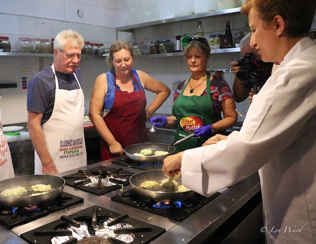 Hands-on Turkish Cookery Class with Ozlem Warren at Yakamoz Hotel, Ovacık