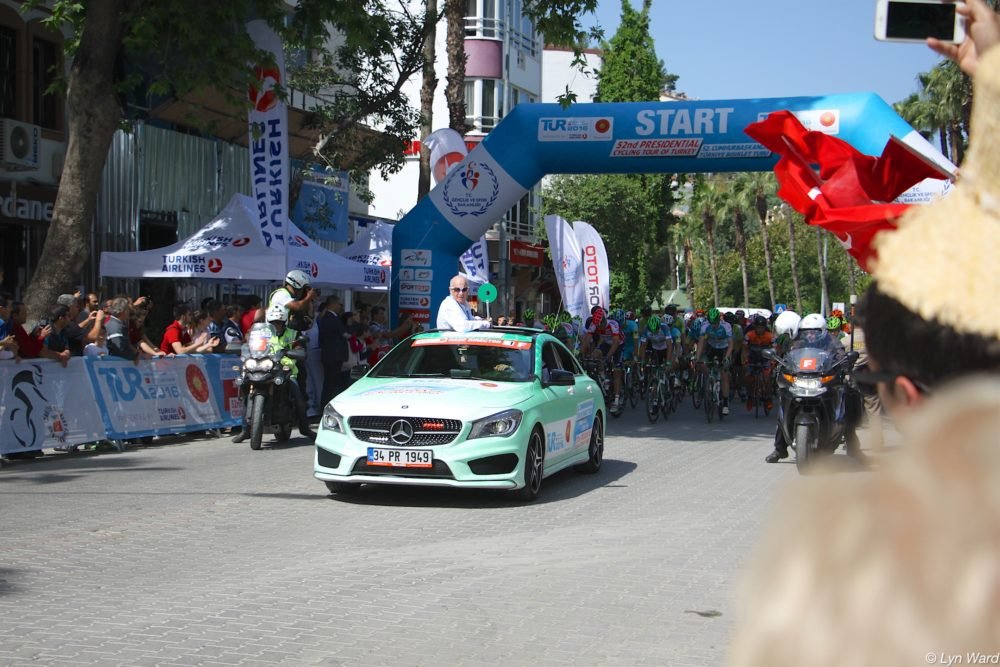 53rd Presidential Cycling Tour of Turkey comes to Fethiye