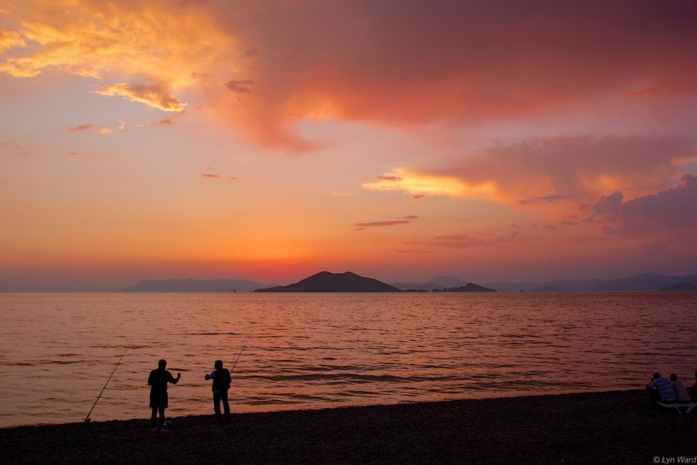 Sunset at Çalış Beach