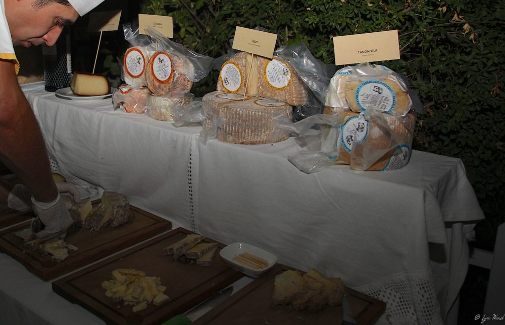 A celebration of cheese & wine