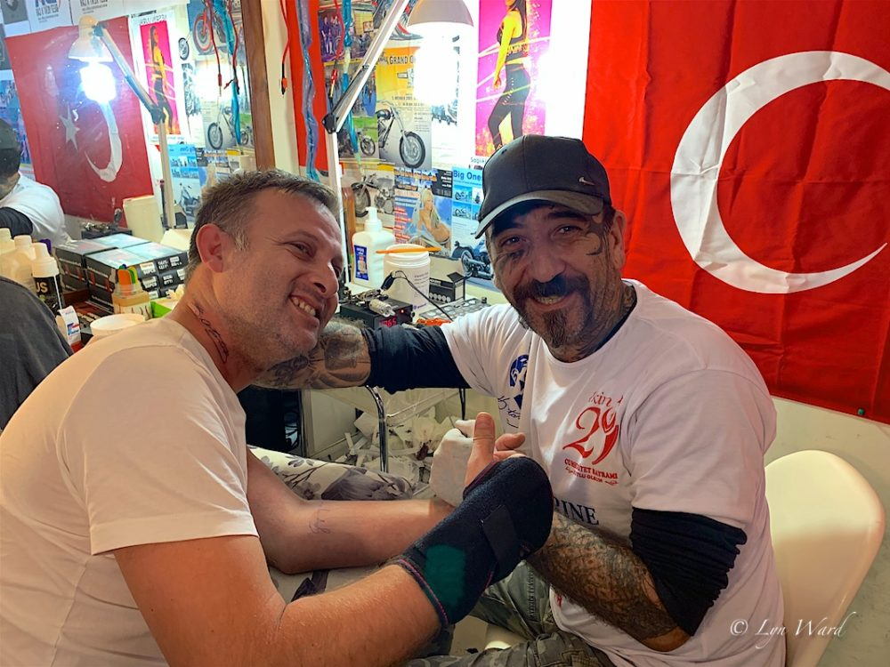 Kaya İlker Ahmet -tattooing for a cause