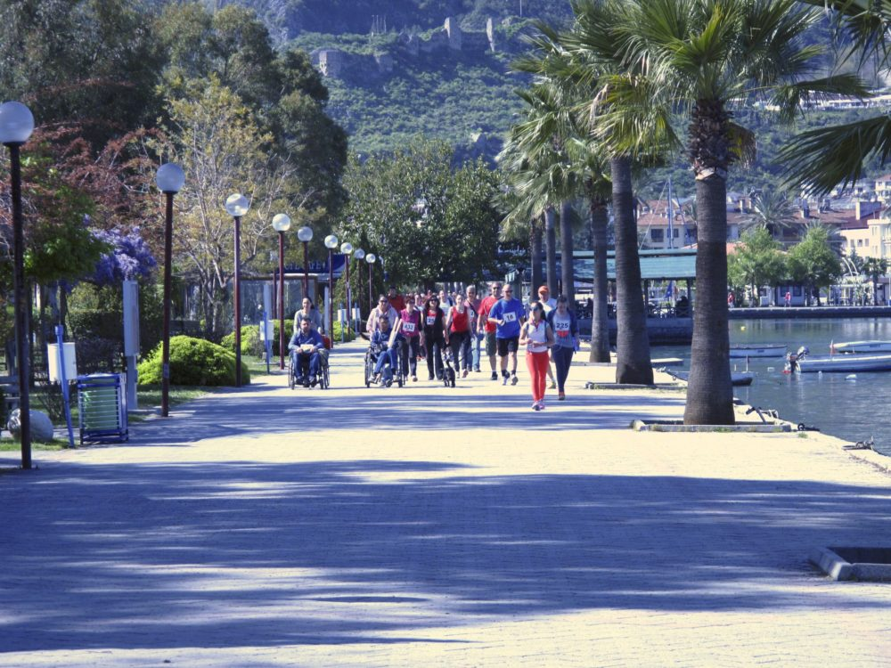 The 5km route along the harbour in Fethiye