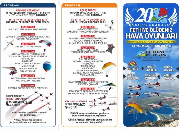 20th International Fethiye Ölüdeniz Airgames