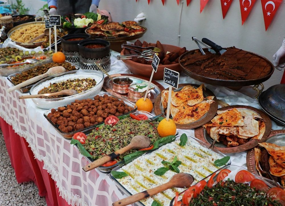 Mozaik Bahçe Hatay Cuisine taster event - slow down and savor the flavours