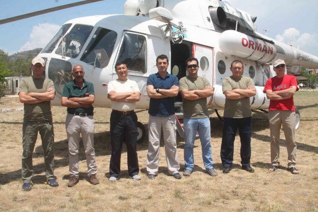 Fethiye Times news - Fire helicopter