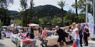 A great turn out for the FIG Spring Fayre