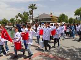 Fethiye celebrates National Sovereignty and Children's Day