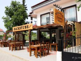 Backstube - a trendy combination of cafe and bakery