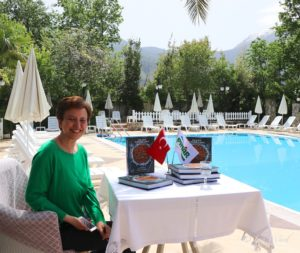 Ozlem Warren returns to the Yakamoz Hotel: Turkish style afternoon tea and Ozlem's Turkish Table book talk and signing @ Yakamoz Hotel