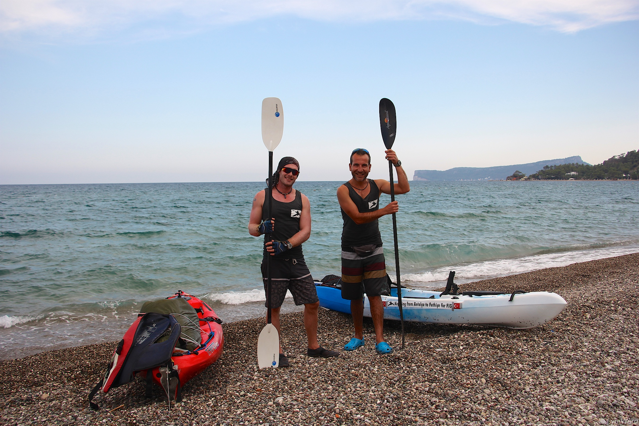 Kayaking from Antalya to Fethiye for FIG