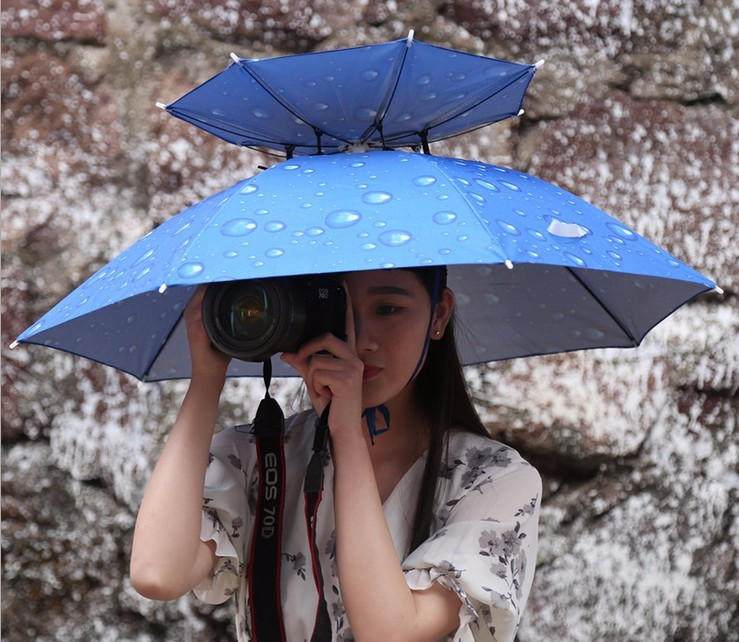 There are umbrellas for those times when you don t have your hands free to  hold the traditional style. cc6d3a61855