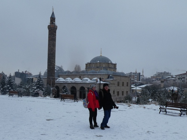 Kars. The colder the weather, the warmer the people