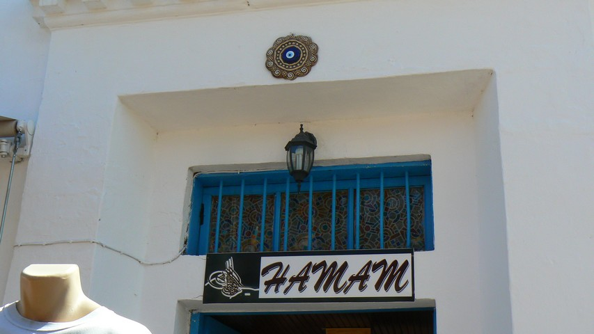 Paspatur Hamam Sign