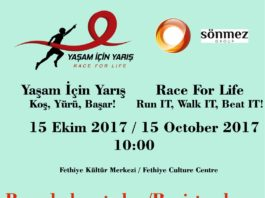 Yaşam İçin Yarış (Race For Life) - The registration race is on!