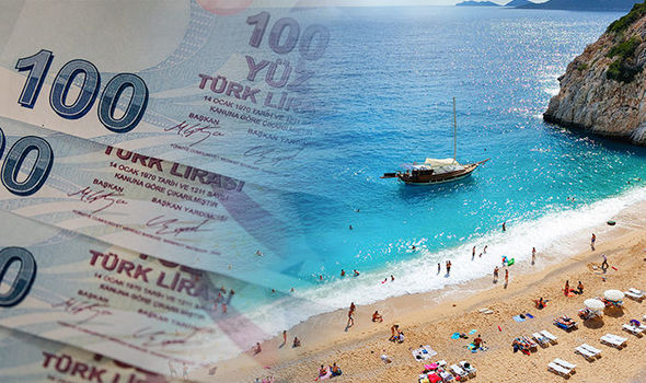 Turkish lira crisis sees currency plummets - Britons should book Turkey holidays NOW