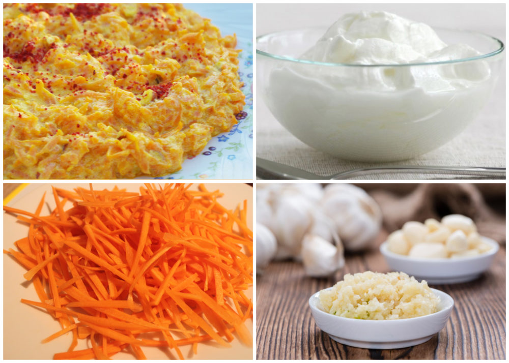 Recipe Box - Salads and Mezes - Carrots with Yoghurt (Yoğurtlu Havuç)