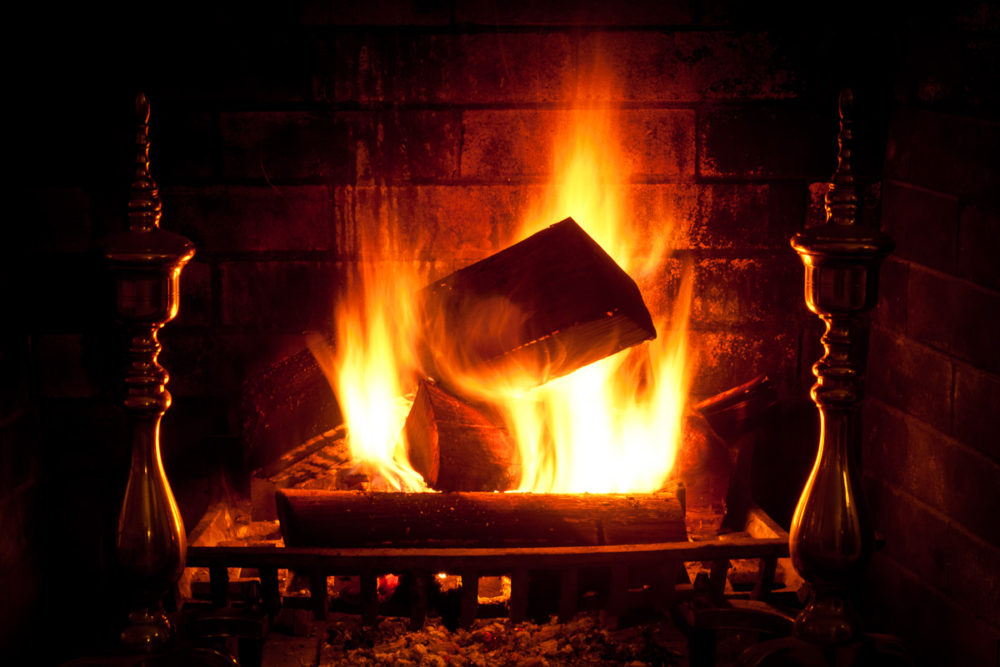 The Yule Log is kept during throughout the Twelve Days of Christmas