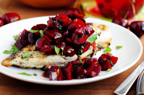 chicken-cherry-salsa
