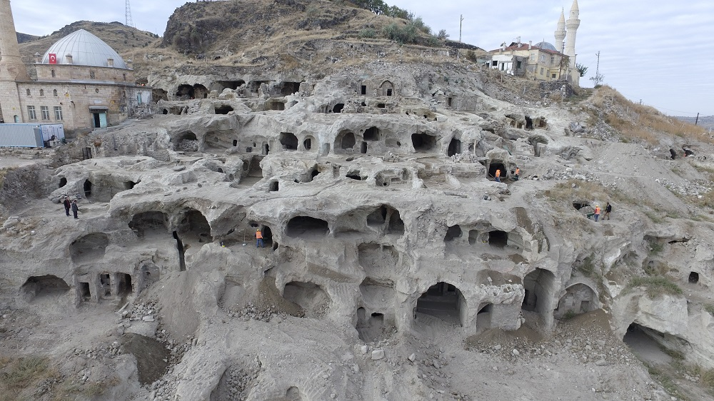 Derinkuyu - the ancient underground city in Turkey