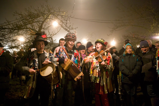 Wassailing is an old English tradition