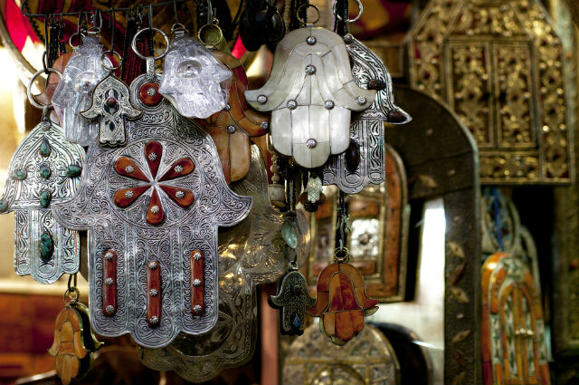 The Hamsa or Hand of Fatima - what does it mean?