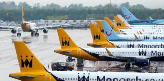 Monarch flights cancelled as airline ceases trading - rescue flights 'to cost £60m'