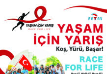 "Yaşam İçin Yarış (Race For Life Turkey) – the ""race to register"" is on"
