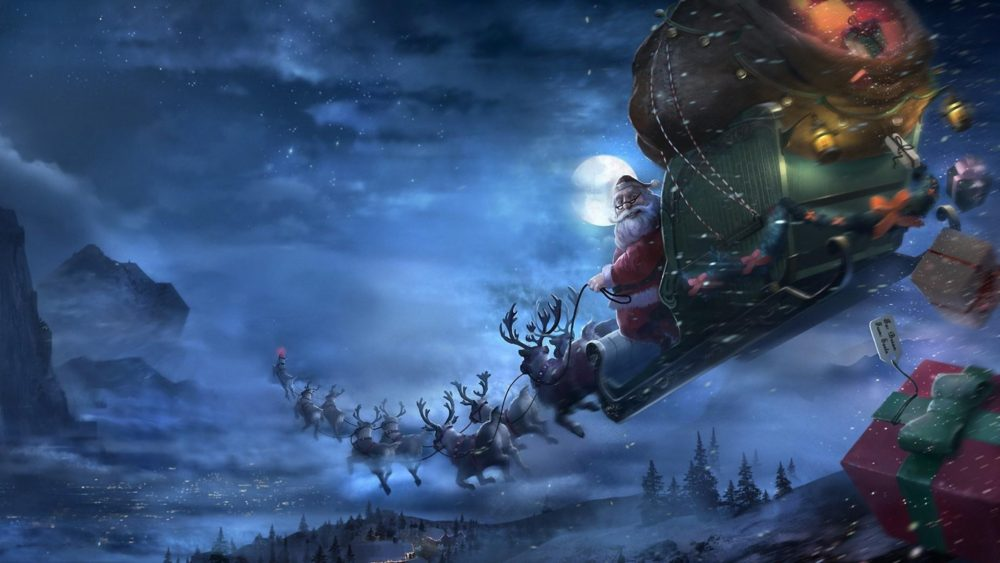 Christmas Zombie Wallpaper.The Story Of Santa Claus Fethiye Times