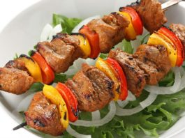 Recipe Box – Meat Dishes – Lamb on Skewers (Şiş Kebap)